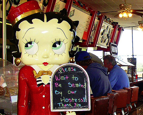 Betty Boop Welcomes