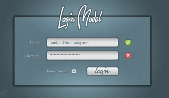Free Online Sign up Form Psd