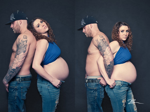 Hippy Maternity Picture