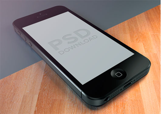 iPhone5 Template PSD by Dash