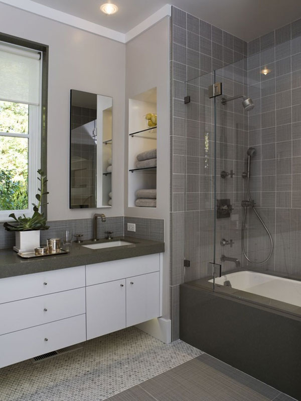 bathroom ides for small bathrooms 30 Small and Functional Bathroom Design Ideas For Cozy Homes