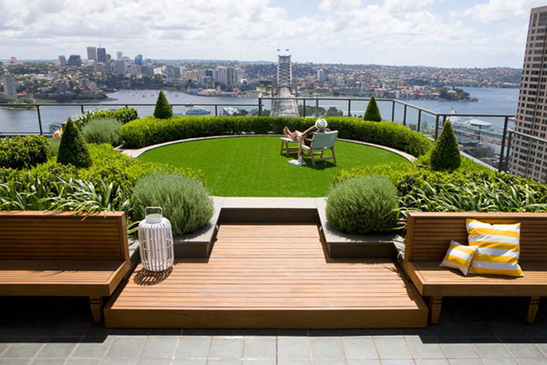 rooftop landscaping ideas 4 30 Rooftop Garden Design Ideas Adding Freshness to Your Urban Home
