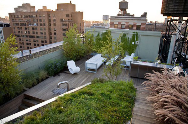rooftop landscaping ideas 8 30 Rooftop Garden Design Ideas Adding Freshness to Your Urban Home