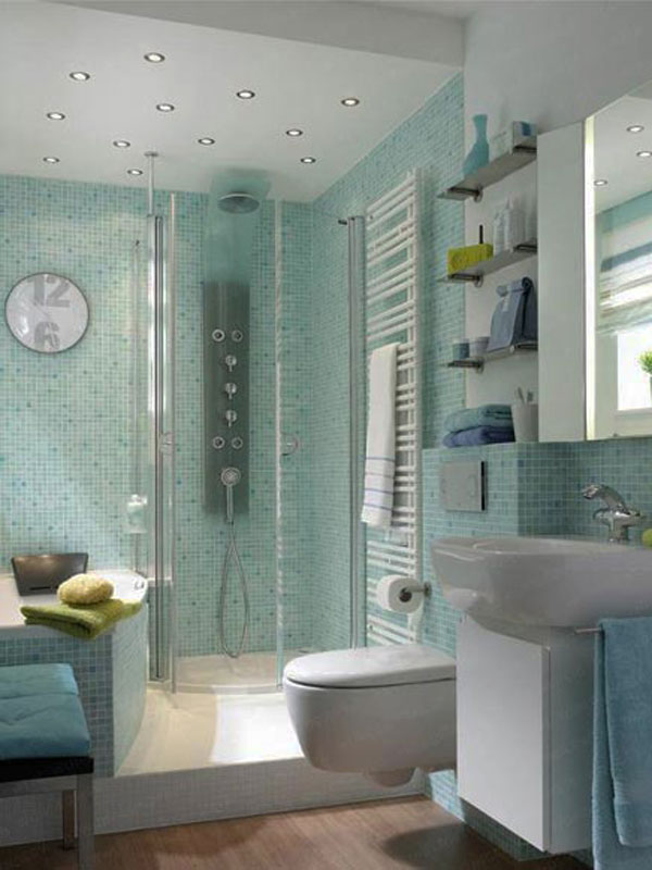 small bathroom 30 Small and Functional Bathroom Design Ideas For Cozy Homes