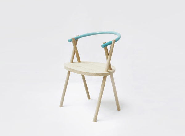 stuckchair 1 Minimalist Chair Design With An Elegant Appearance by Studio Oato