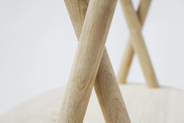 stuckchair 7 Minimalist Chair Design With An Elegant Appearance by Studio Oato