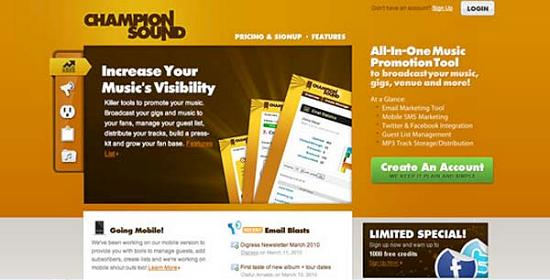 yellowsites17 Yellow Colored Website Designs for Inspiration