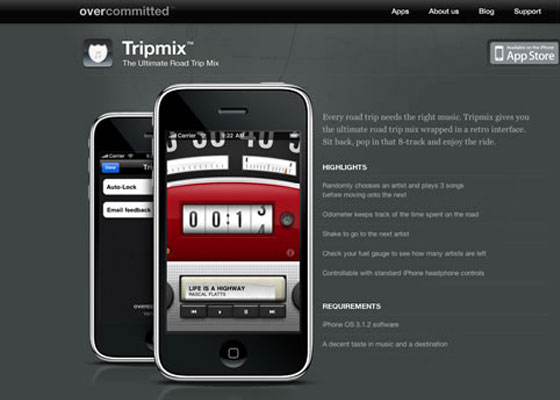 Inspiring iPhone App Websites