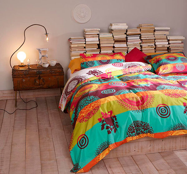 books headboard ideas 35 Cool Headboard Ideas To Improve Your Bedroom Design