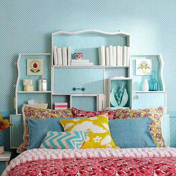 headboard ideas shelv 35 Cool Headboard Ideas To Improve Your Bedroom Design