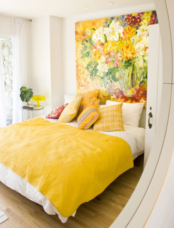 headboard ideas painting 35 Cool Headboard Ideas To Improve Your Bedroom Design
