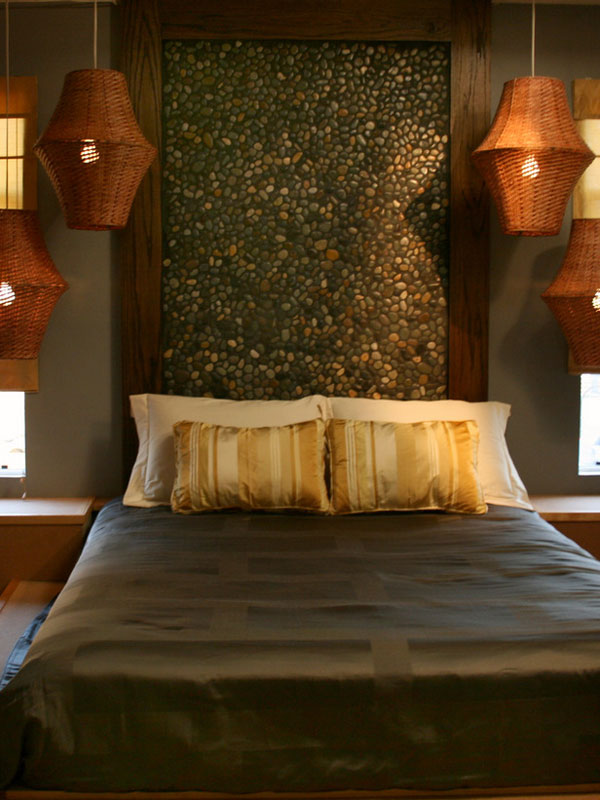 stone headboard ideas 35 Cool Headboard Ideas To Improve Your Bedroom Design