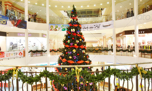 best selling chritmas tree shoping center Best Selling Photographs of Christmas Tree