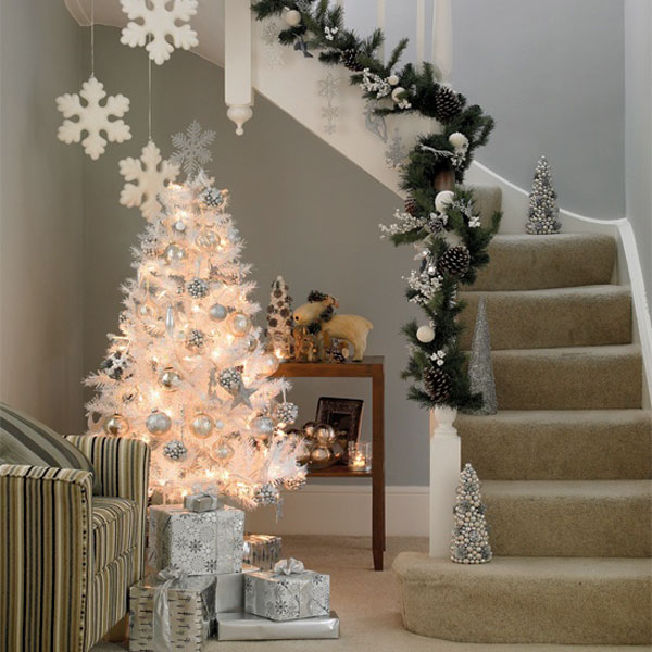 christmas stairs decoration 30 Christmas Decorating Ideas To Get Your Home Ready For The Holidays