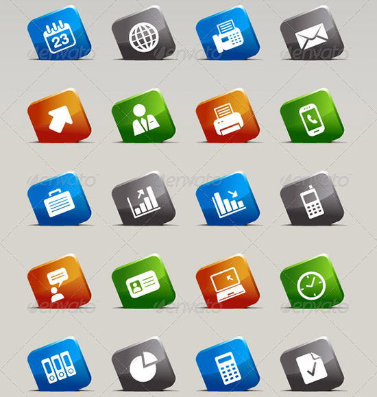 108 cutsquares update preview PSD Icon Set of Social Media and Applications