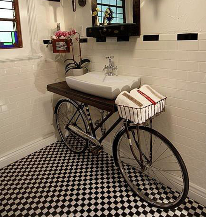 BestDesignTuts-Ideas to Transform Old Bicycles into Master Pieces-Recycle idea for Old bicycle-18