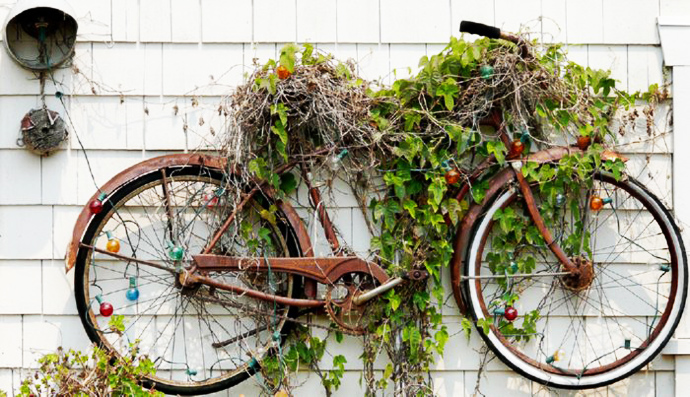 BestDesignTuts-Ideas to Transform Old Bicycles into Master Pieces-Recycle idea for Old bicycle-19