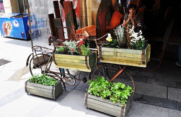 BestDesignTuts-Ideas to Transform Old Bicycles into Master Pieces-Recycle idea for Old bicycle-24