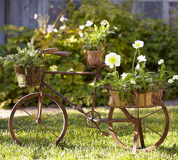 BestDesignTuts-Ideas to Transform Old Bicycles into Master Pieces-Recycle idea for Old bicycle-31