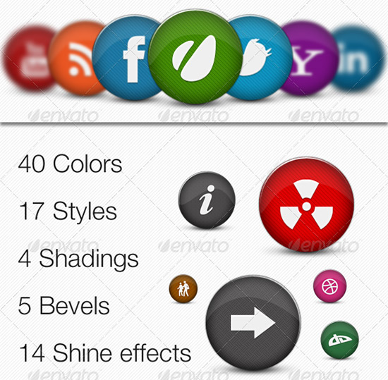 file presentation icon maker pro PSD Icon Set of Social Media and Applications