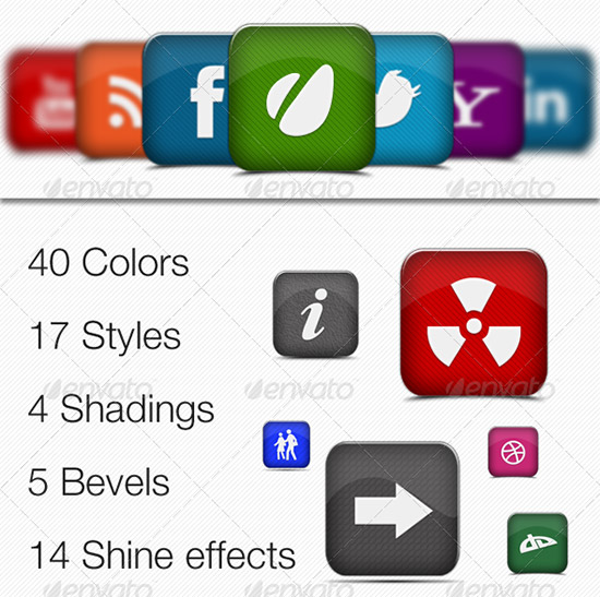 file presentation icon maker pro2 PSD Icon Set of Social Media and Applications