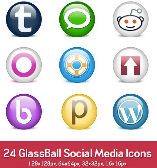 free psd icon16 PSD Icon Set of Social Media and Applications