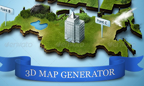 photoshop action 3d map Best Selling 3D Photoshop Actions, Style and Patterns