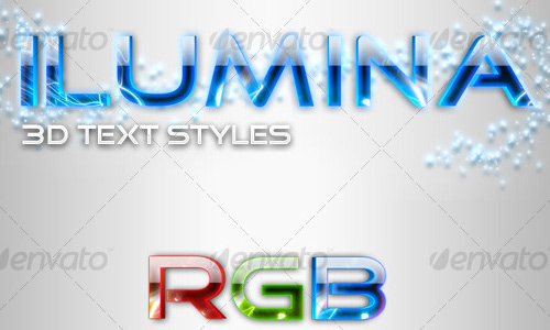 photoshop action ilumina Best Selling 3D Photoshop Actions, Style and Patterns