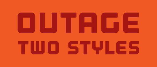 Outage Font
