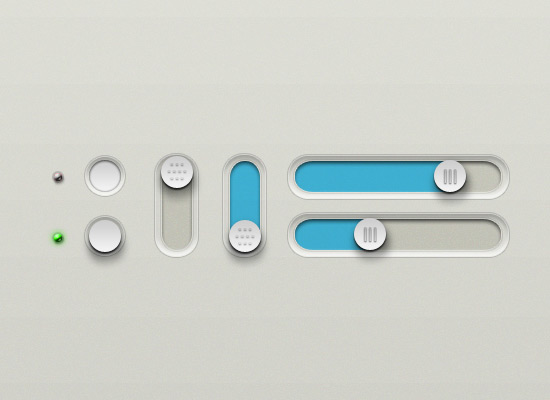 Buttons And Sliders