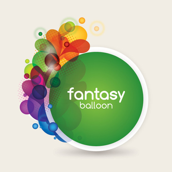 Fantasy Balloon - Vector Graphic by DryIcons