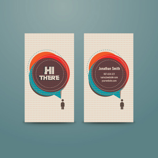 Personal Business Card - Vector Graphic by DryIcons