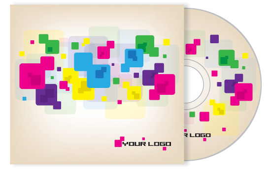 Cd Cover Design - Vector Graphic by DryIcons