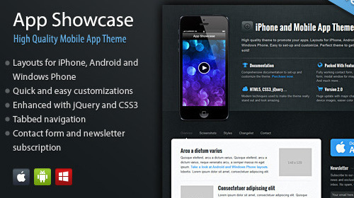 landing page app showcase Nitty Gritty of Landing Page and Amazing Collection