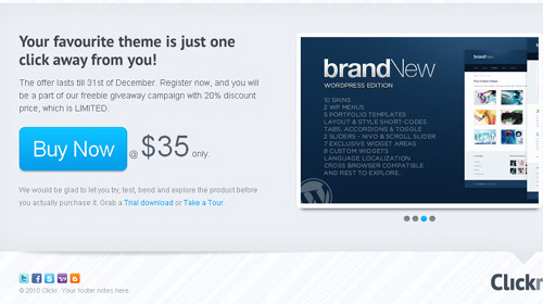 landing page clickr Nitty Gritty of Landing Page and Amazing Collection