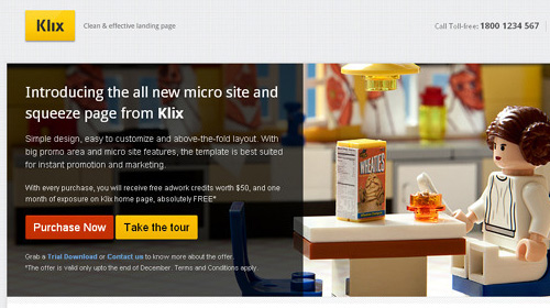 landing page klix Nitty Gritty of Landing Page and Amazing Collection