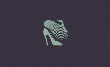 shoes logo illusoria 27 Best Shoes Logos for Inspiration