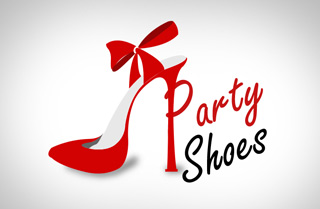 shoes logo partyshoes 27 Best Shoes Logos for Inspiration