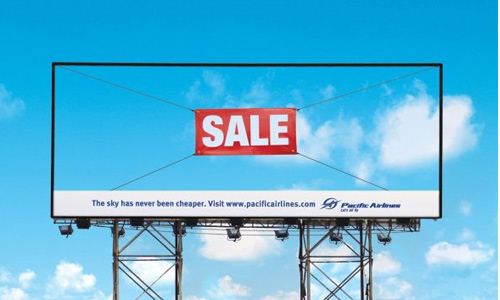creative outdoor ads airlines Creative Outdoor Ads for Inspiration