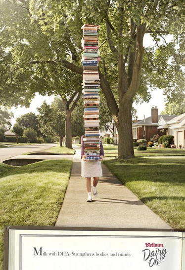 creative outdoor ads books Creative Outdoor Ads for Inspiration