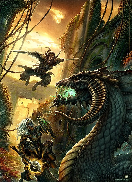 Beautiful Fantasy Illustrations by Kerem Beyit