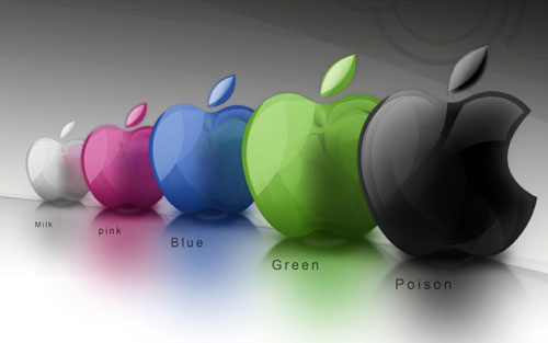 Colorful Apple Desktop Background