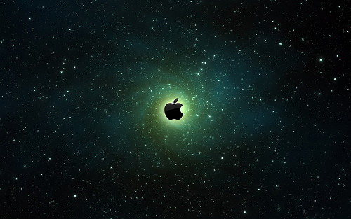 Alluring Apple Background