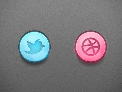 social media buttons icons branding