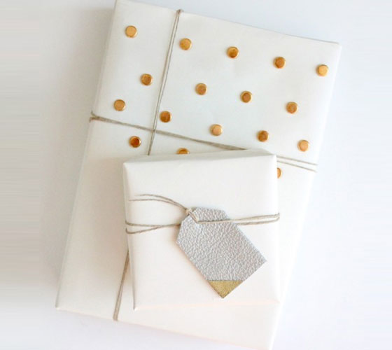 Studded Gift Wrap