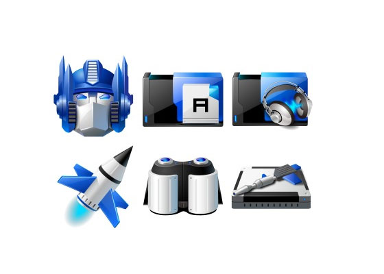 Transformers Icons by ypf