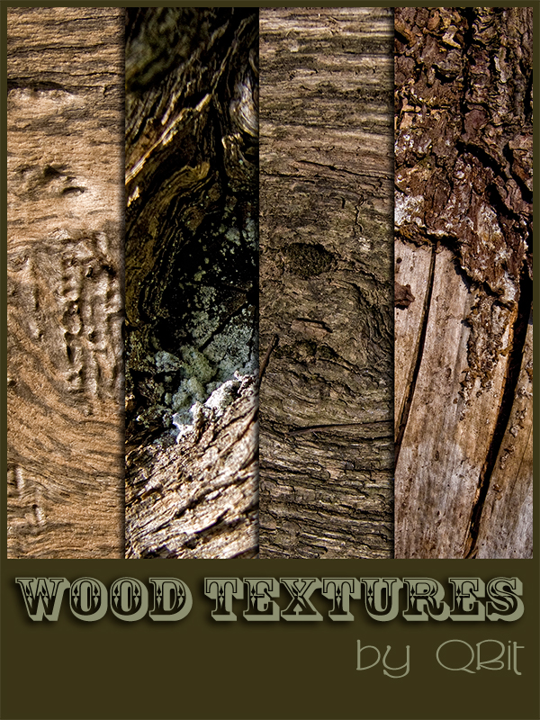 WOOD TEXTURES by QBit71 200+ Free High Quality Grungy Dirty Wood Textures