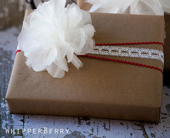 Wax Paper Flower Tutorial