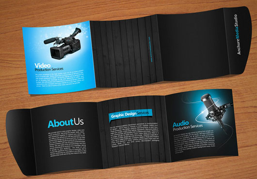 Anchure brochure 40 Inspirational Creative Brochure Designs