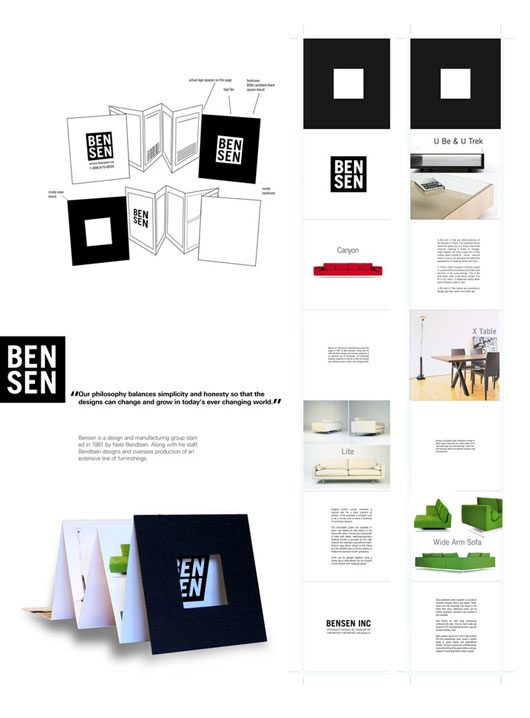 Bensen Accordion Fold Brochure 40 Inspirational Creative Brochure Designs